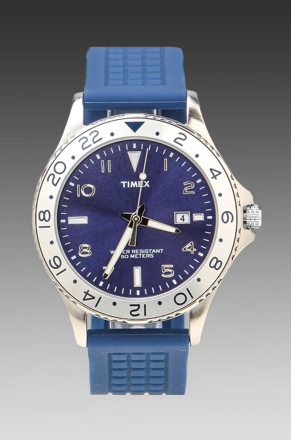 Timex Watch in Blue w/ Blue Strap