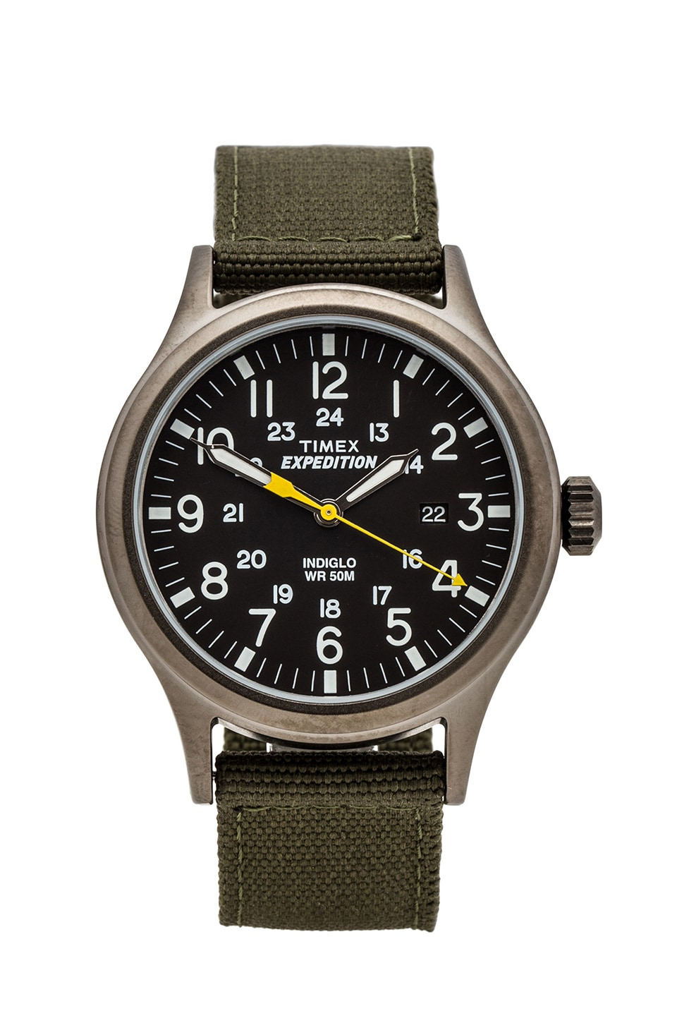 Timex Expedition Scout Metal in Gray & Black & Green