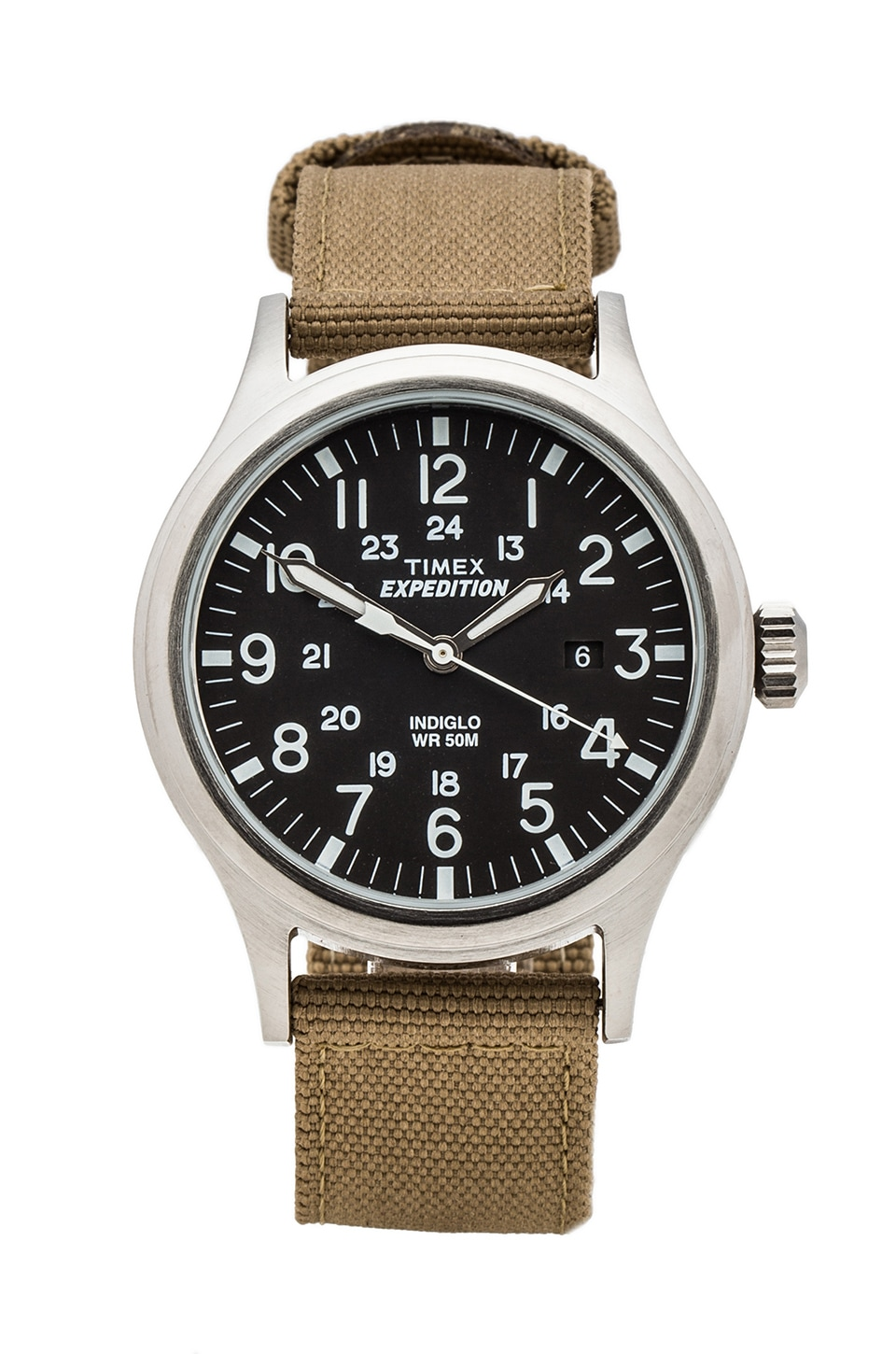 Timex Expedition Scout Metal in Black & Tan