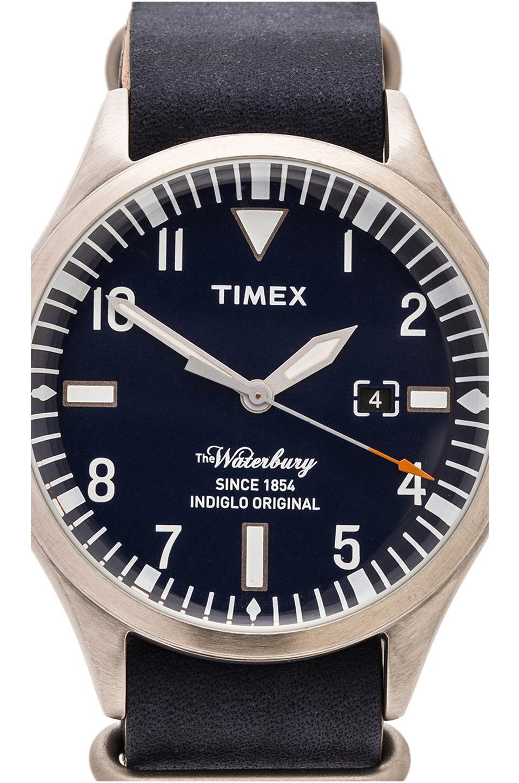 Timex The Waterbury In Blue Blue