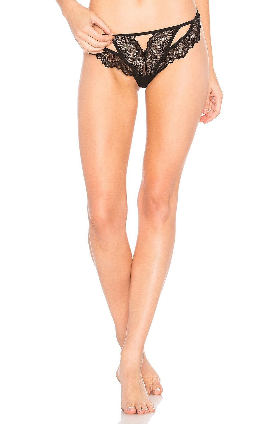 Thistle & Spire Kane Thong in Black
