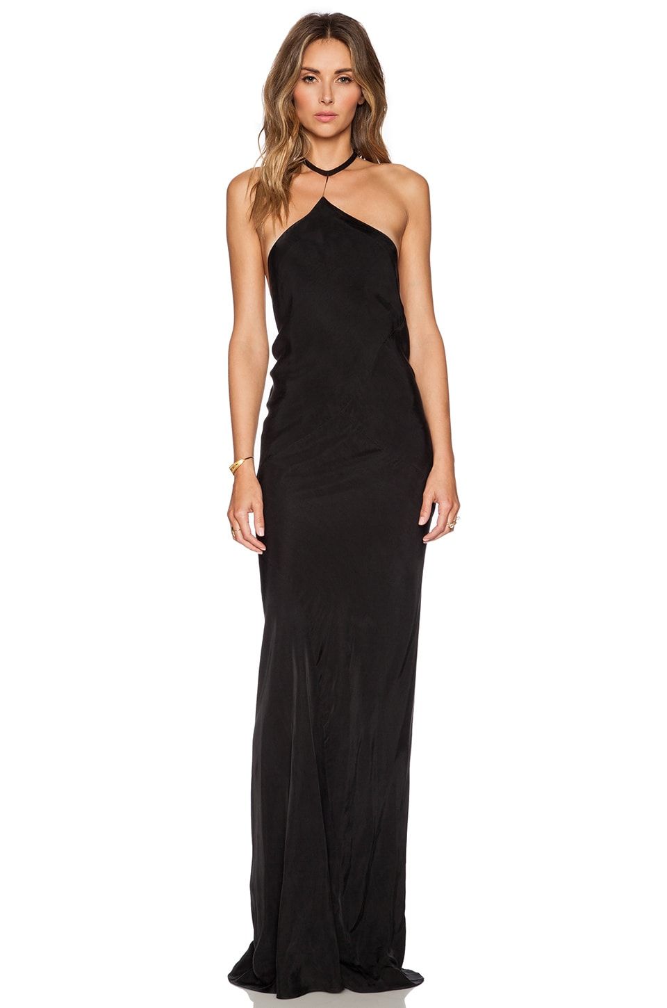TITANIA INGLIS Drop Dress in Black