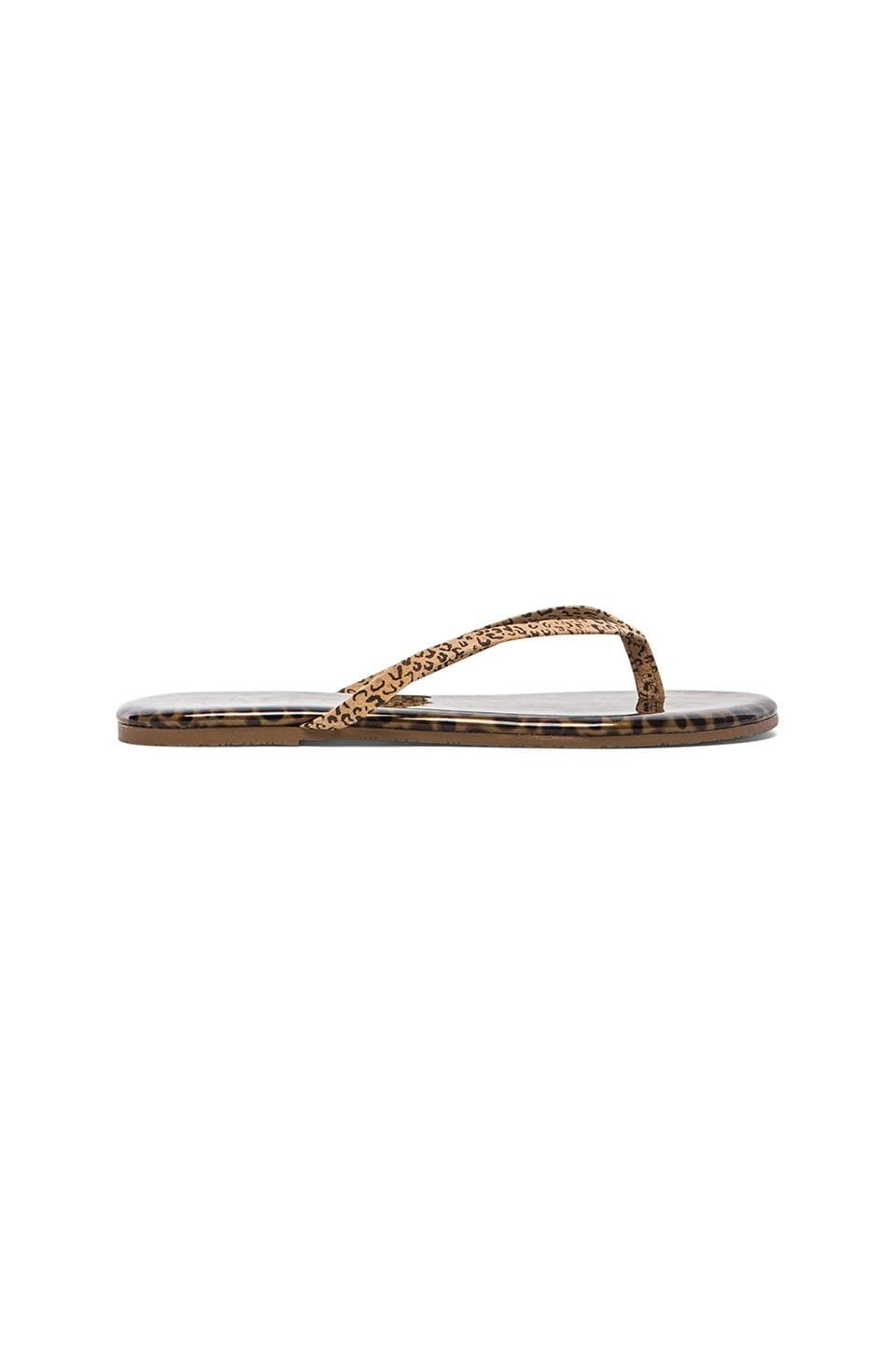TKEES Sandal in Chatty Cheetah