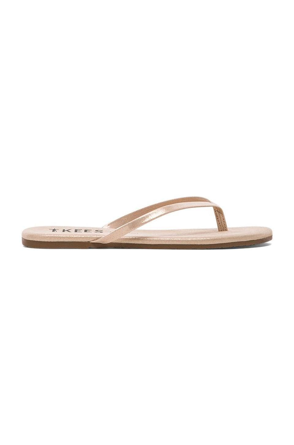 TKEES Sandal in Pink Pearl