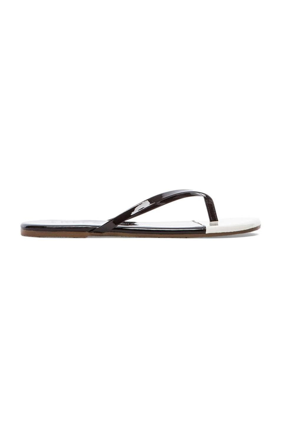 TKEES Sandal in Black Tie