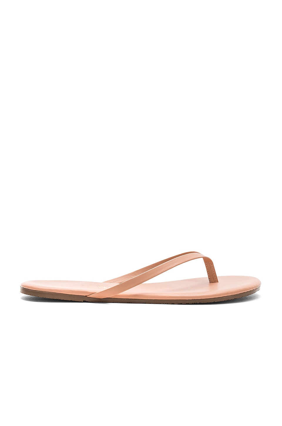 TKEES Foundations Flip Flops in Nude Beach