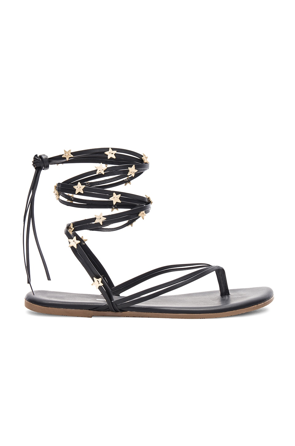 TKEES Lily Wrap Sandal in Rockstar