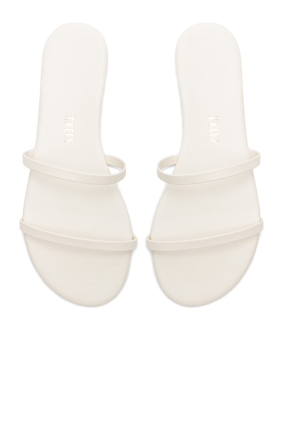TKEES Gemma Sandal in Coconut Cream