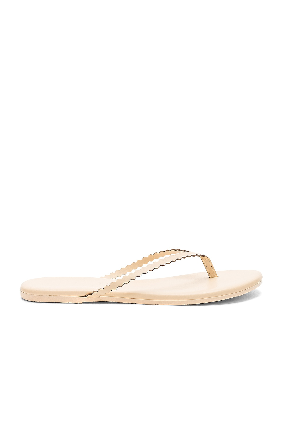 TKEES Studio Scalloped Sandal in Bella