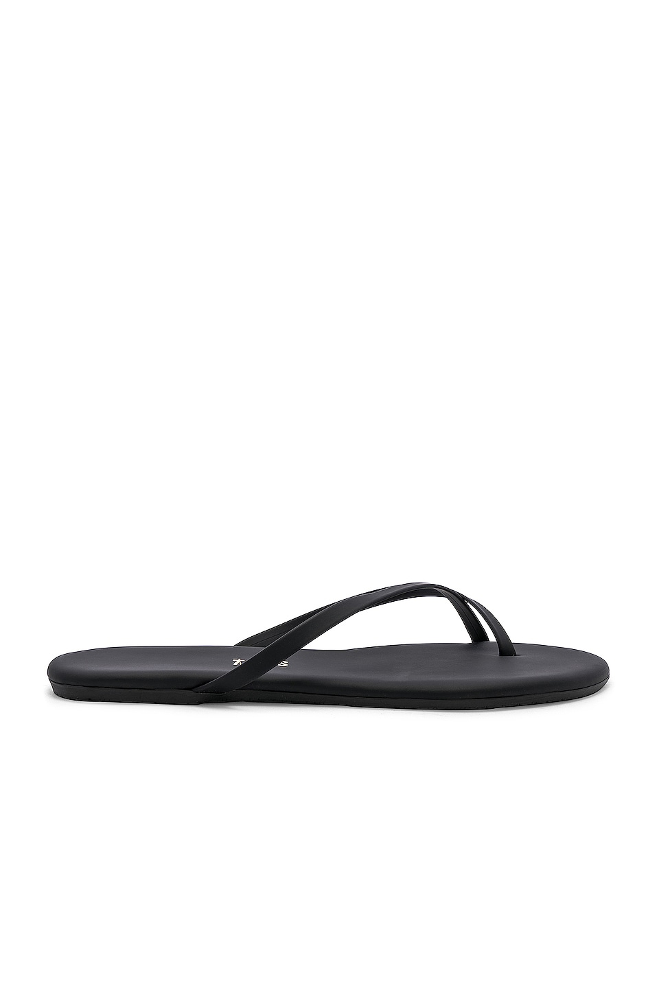 TKEES Riley Sandal in Matte Black