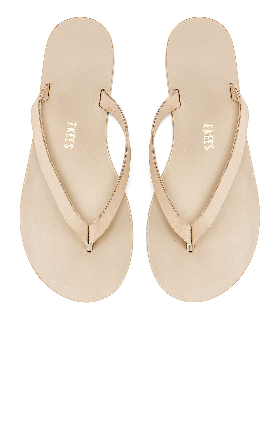 TKEES Jane Sandal in Bone