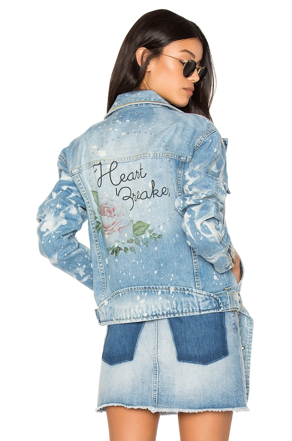 Heart Breaker Moto Club Jacket by The Laundry Room