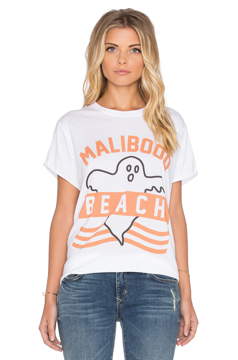 The Laundry Room Maliboo Rolling Tee in White