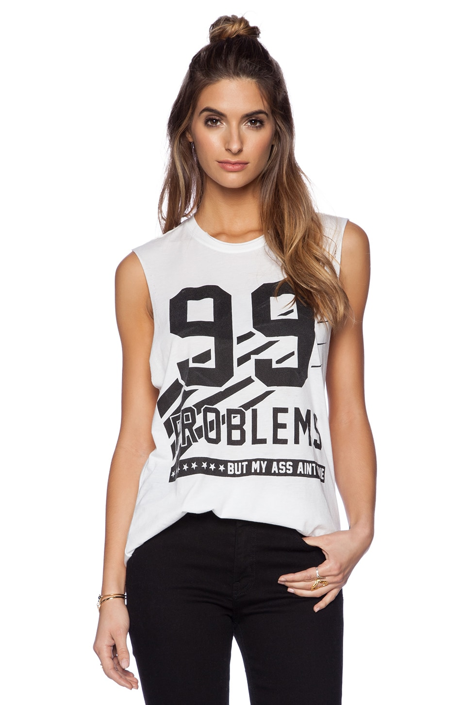 The Laundry Room T-SHIRT SANS MANCHES 99 PROBLEMS
