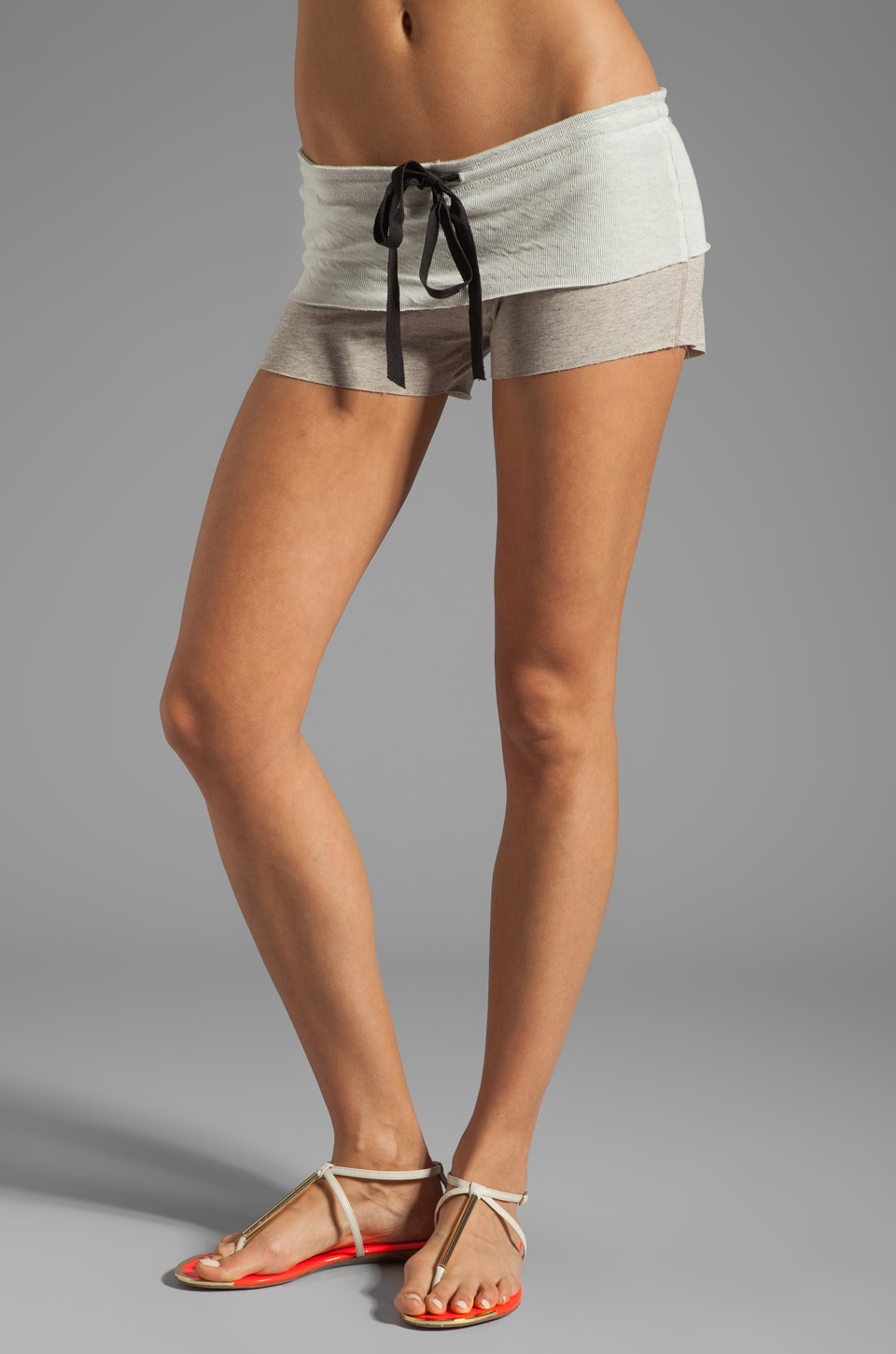 Tylie French Terry Short in Oat