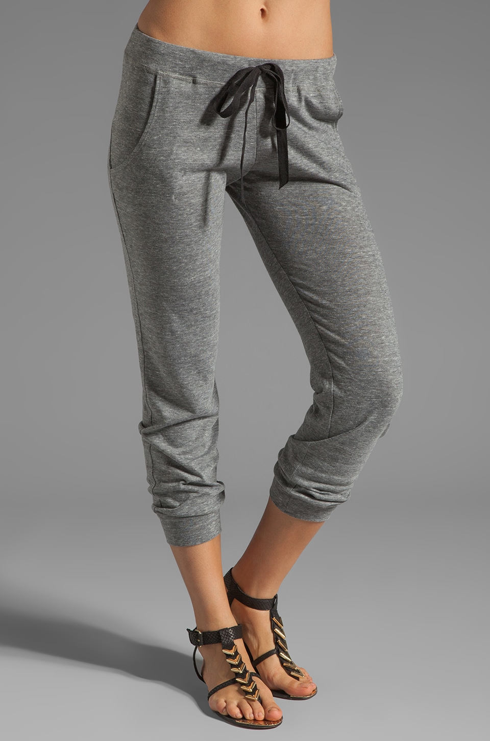 Tylie Triblend Track Pants in Heather