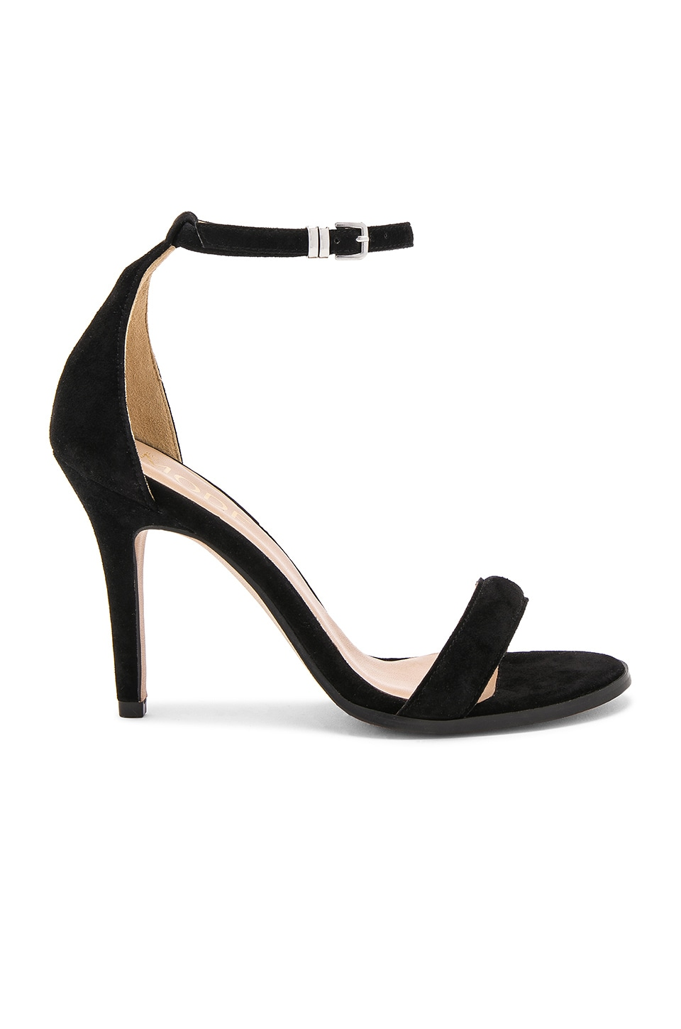 The Mode Collective Daria Sandal in Black Suede
