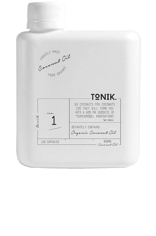 TONIK No.1 Organic Coconut Oil Capsules