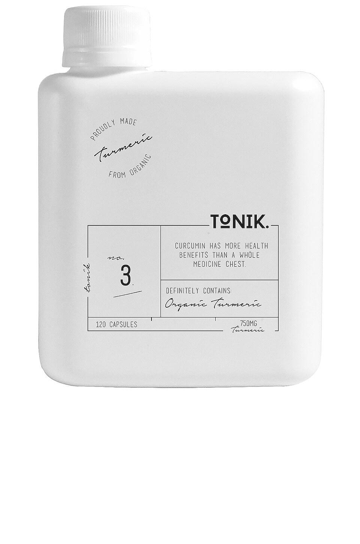 TONIK No.3 Organic Curcumin Turmeric Capsules