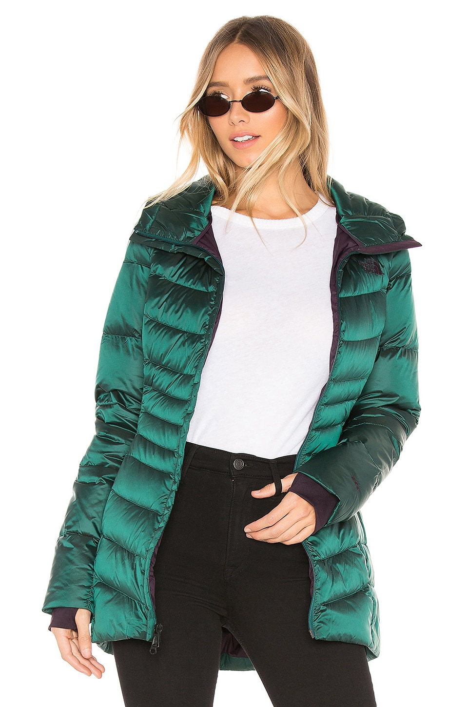 f0dc2954a The North Face Aconcagua Parka II in Shiny Botanical Garden Green ...