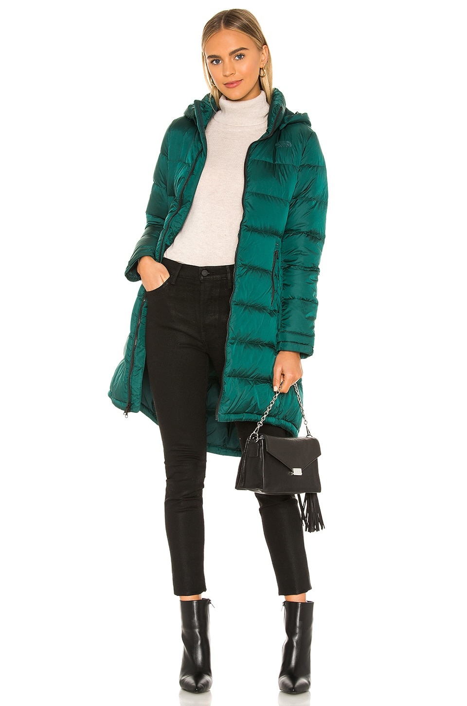 The North Face Metropolis Parka III in Ponderosa Green