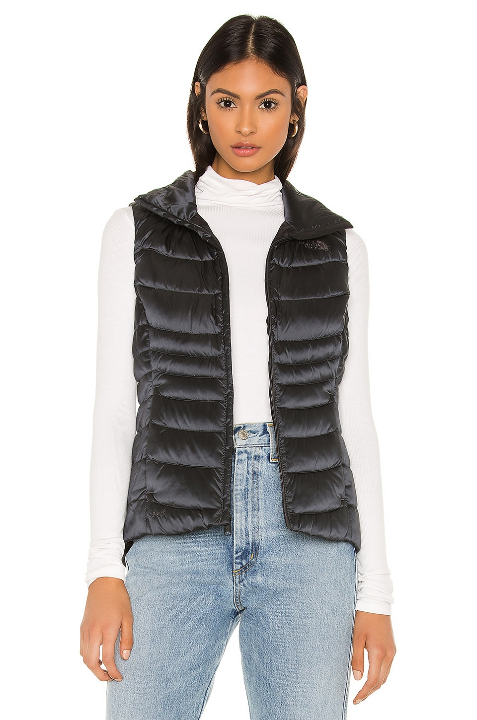 The North Face Aconcagua Vest II in Shiny Asphalt Grey