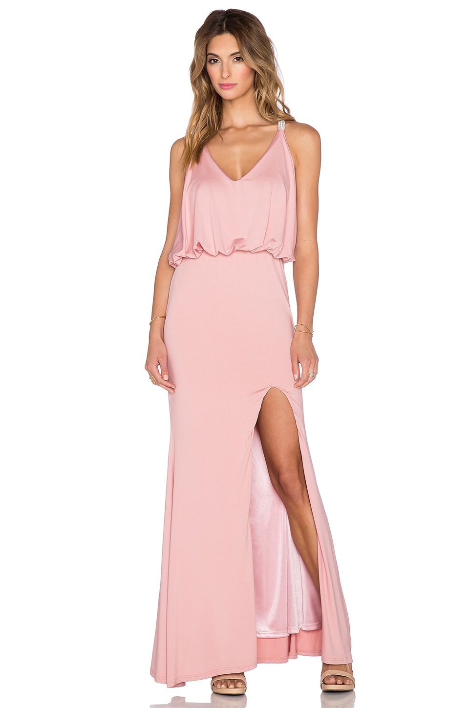 Toby Heart Ginger x REVOLVE Jewel T-Back Dress in Mauve