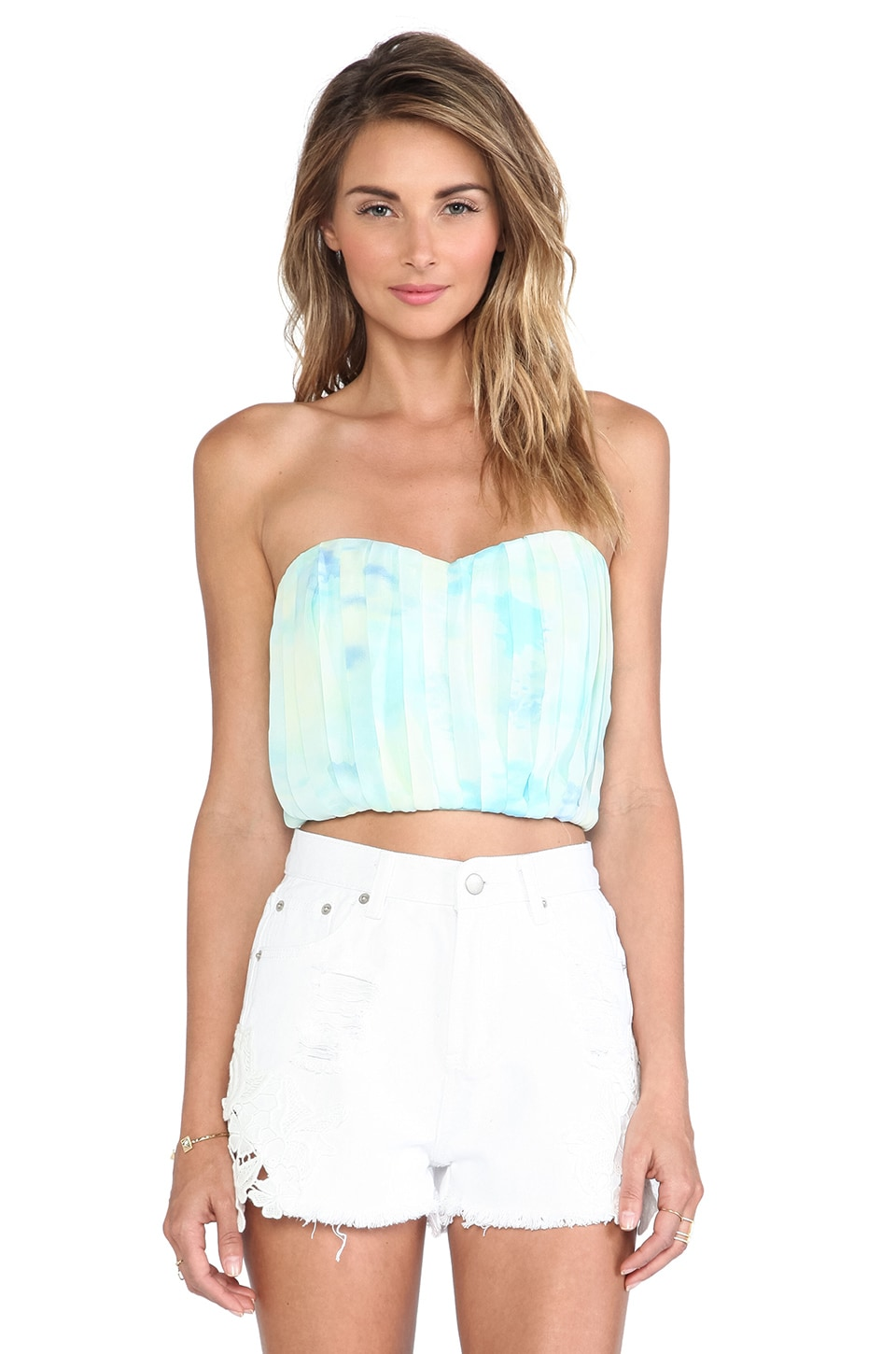 Toby Heart Ginger x Love Indie Sails Bustier in Blue