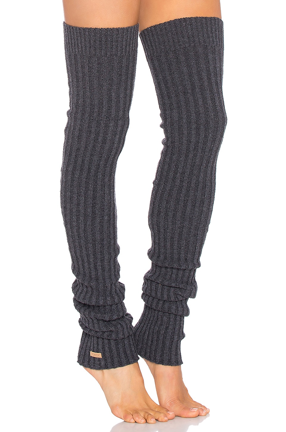 6ca6dc0a0 toesox Thigh High Leg Warmer in Charcoal Grey