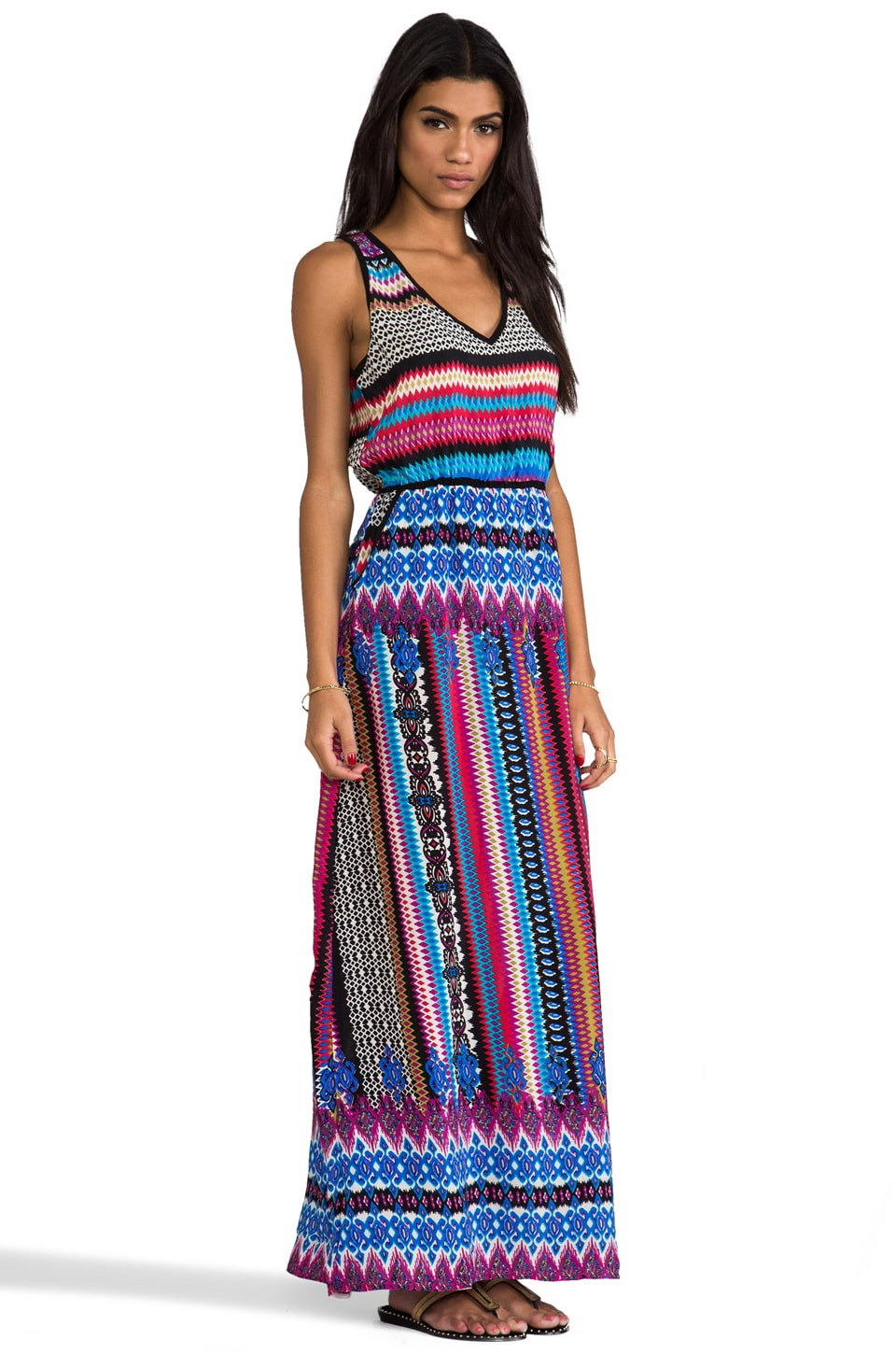 Tolani Norah Maxi Dress in Fiesta