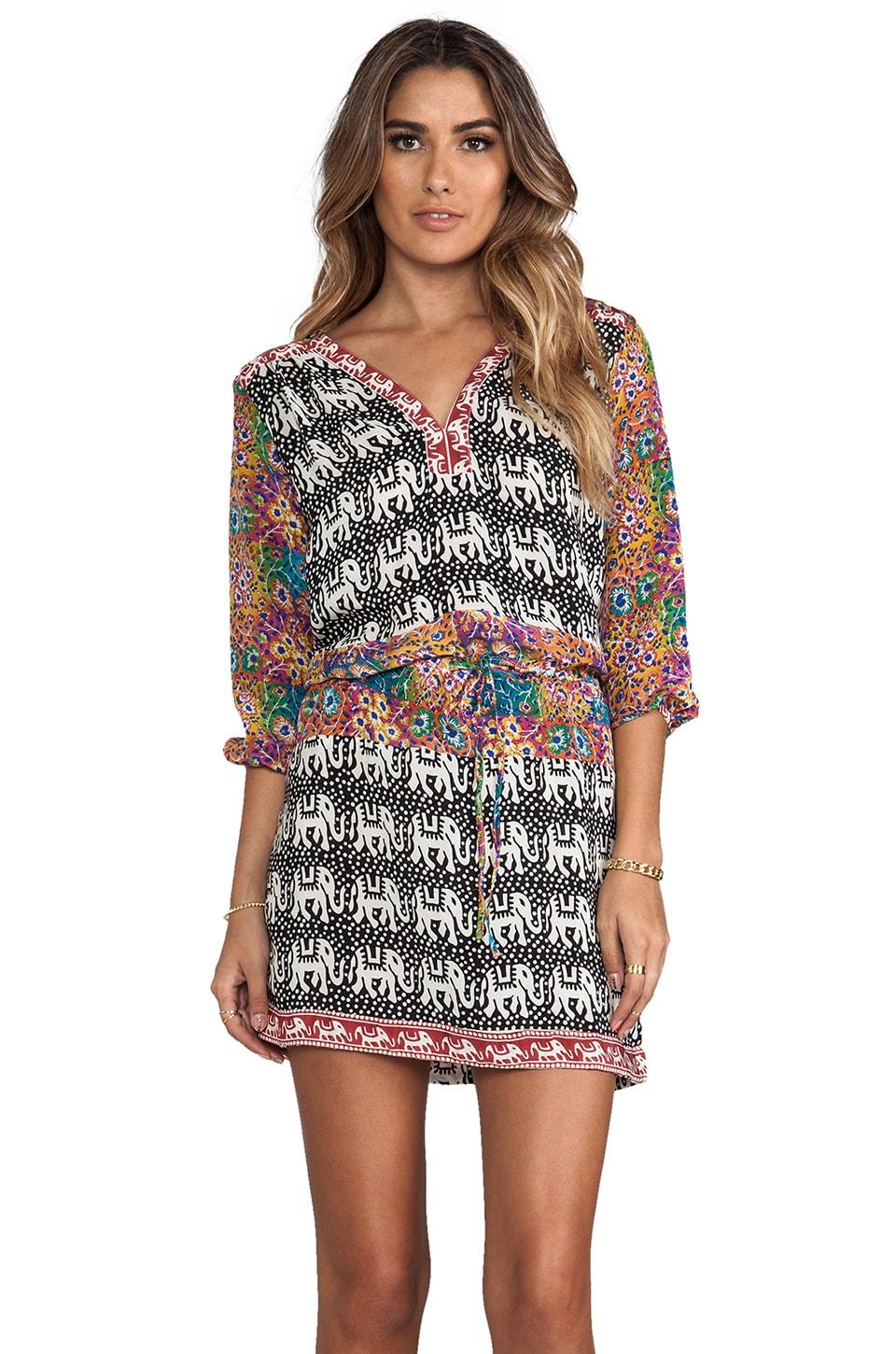 Tolani Noelle Dress in Elephants