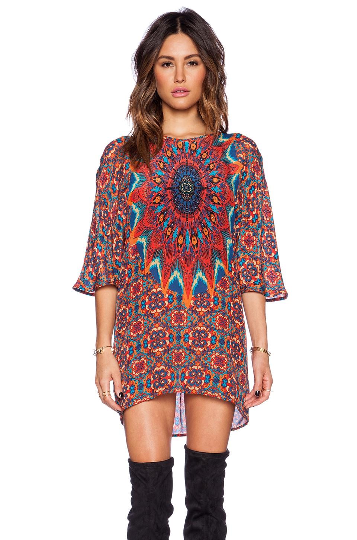 Tolani Kristy Dress in Coral