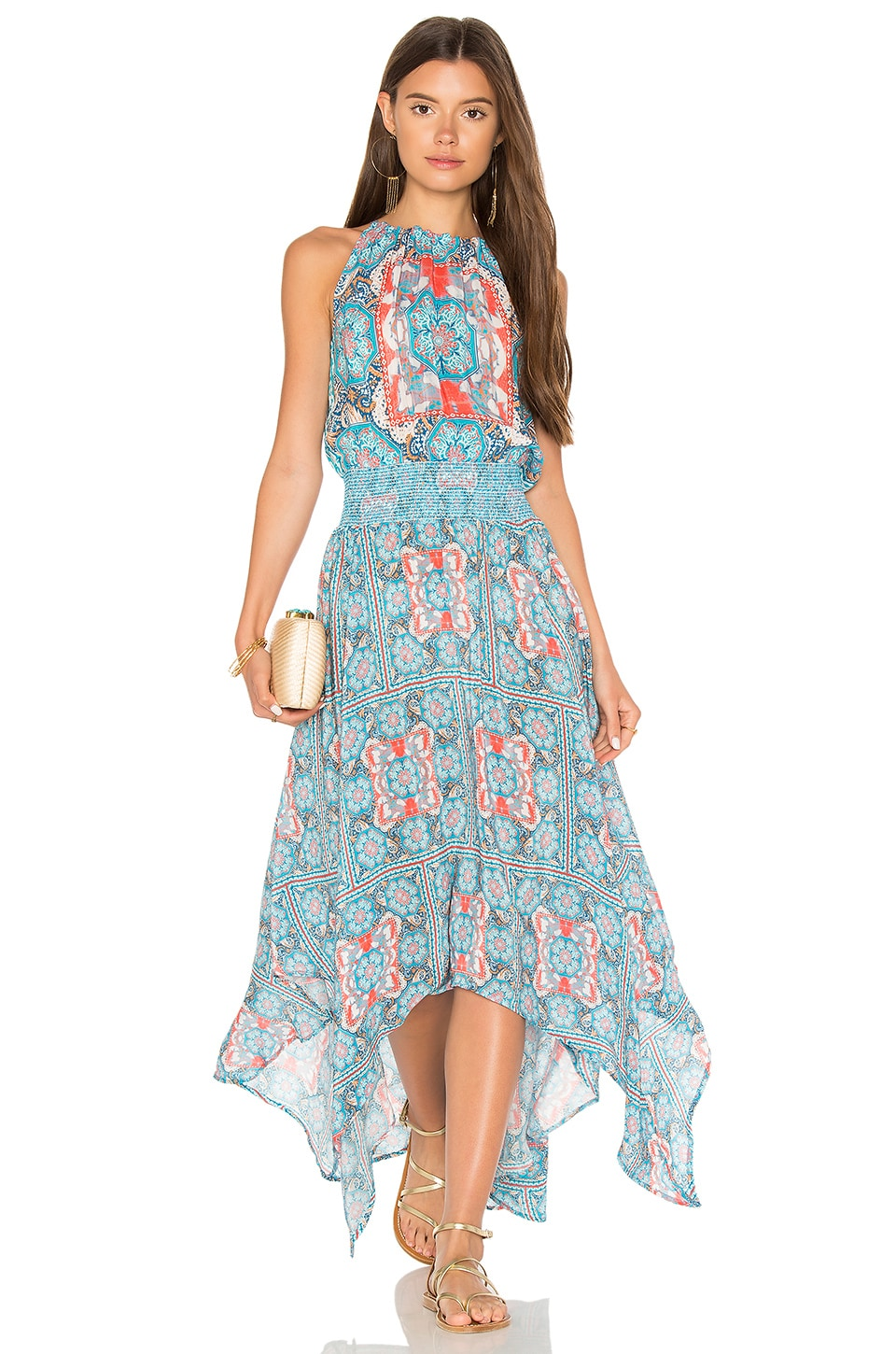 Tolani Tamara Maxi Dress in Sky