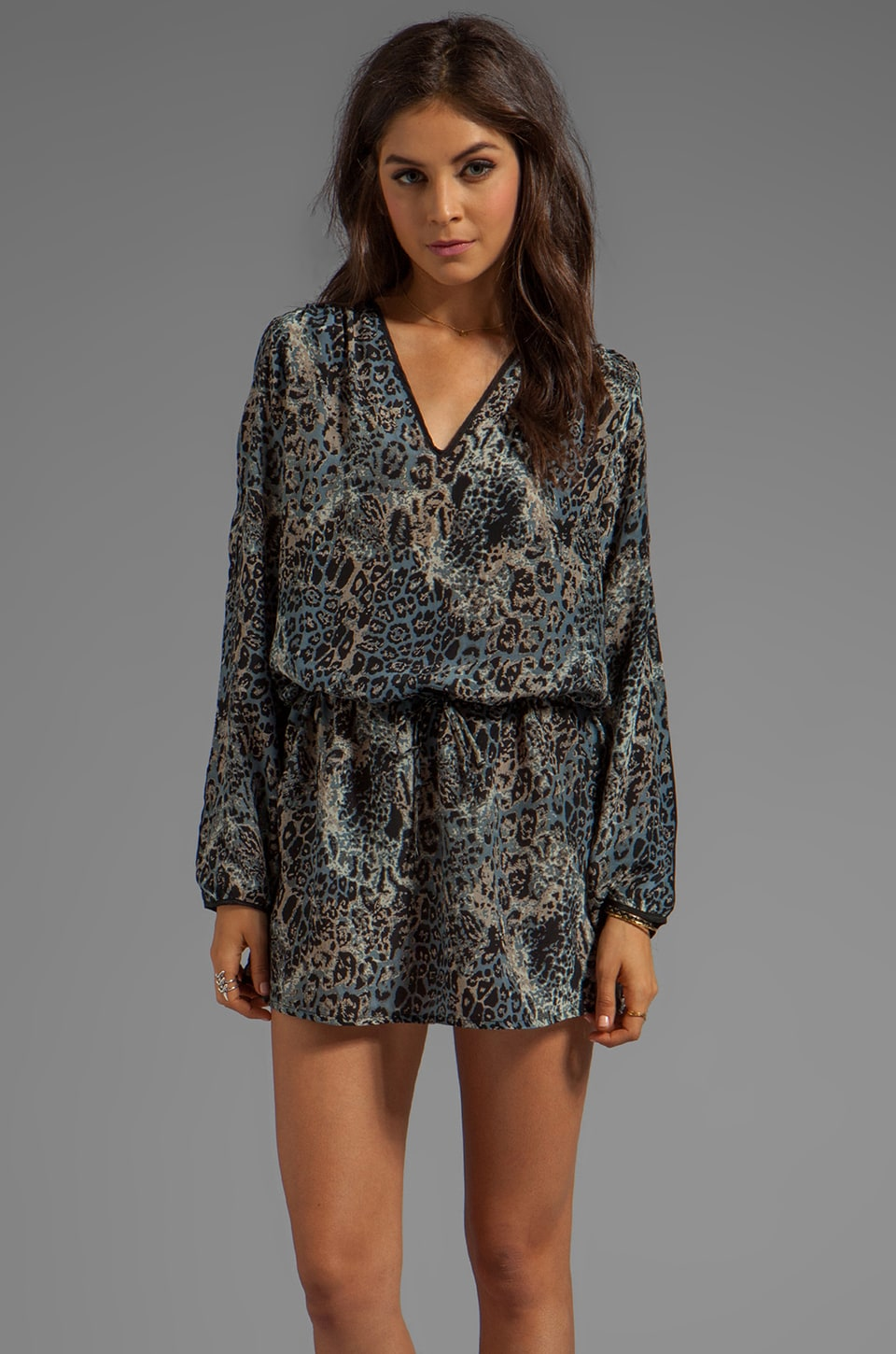 Tolani Jessica Dress Print in Animal