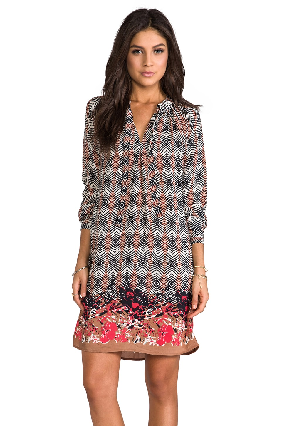 Tolani Hazel Dress in Tribal