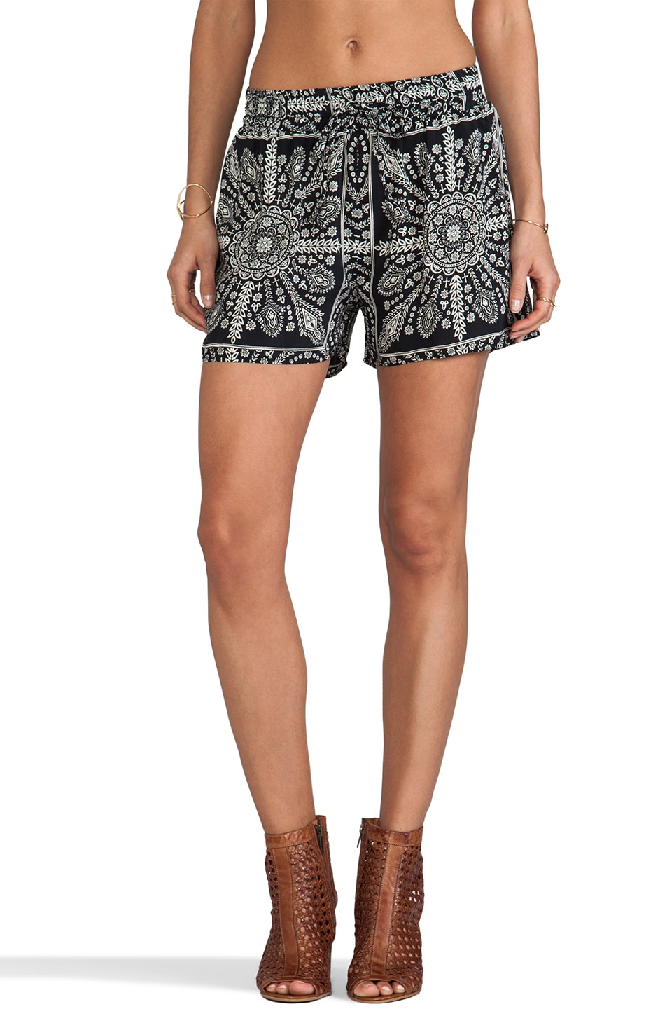 Tolani Gia Shorts in Black