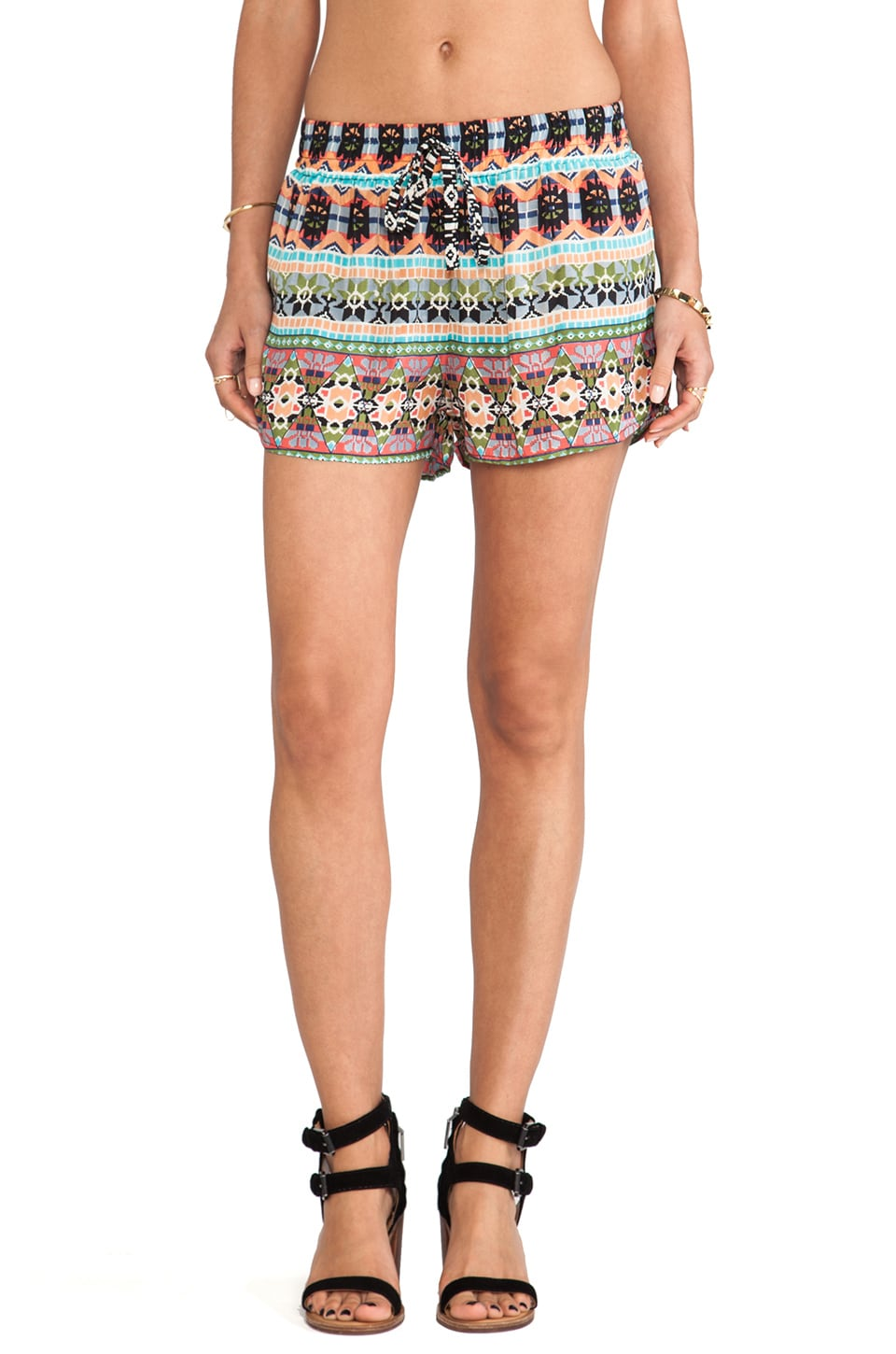 Tolani Marla Short in Black
