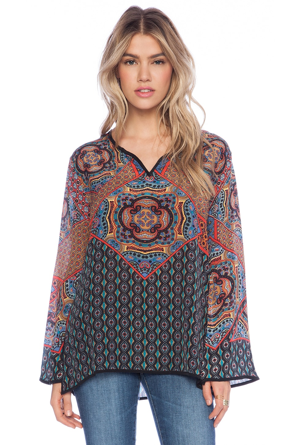Tolani Lilah Top in Midnight