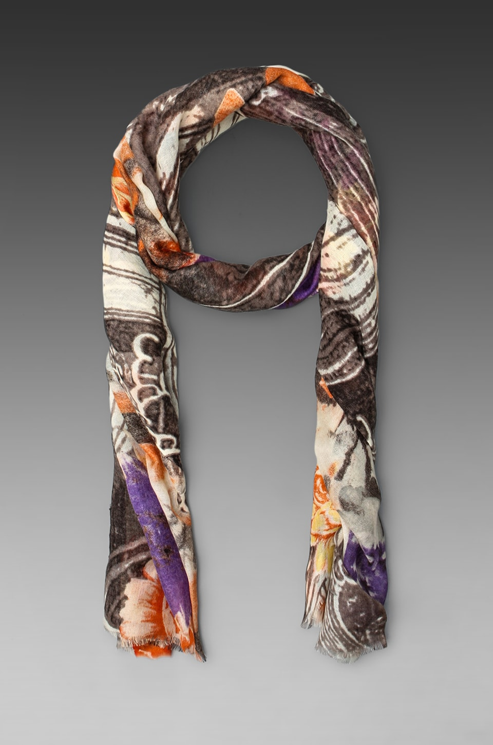Tolani Africa Scarf in Grey