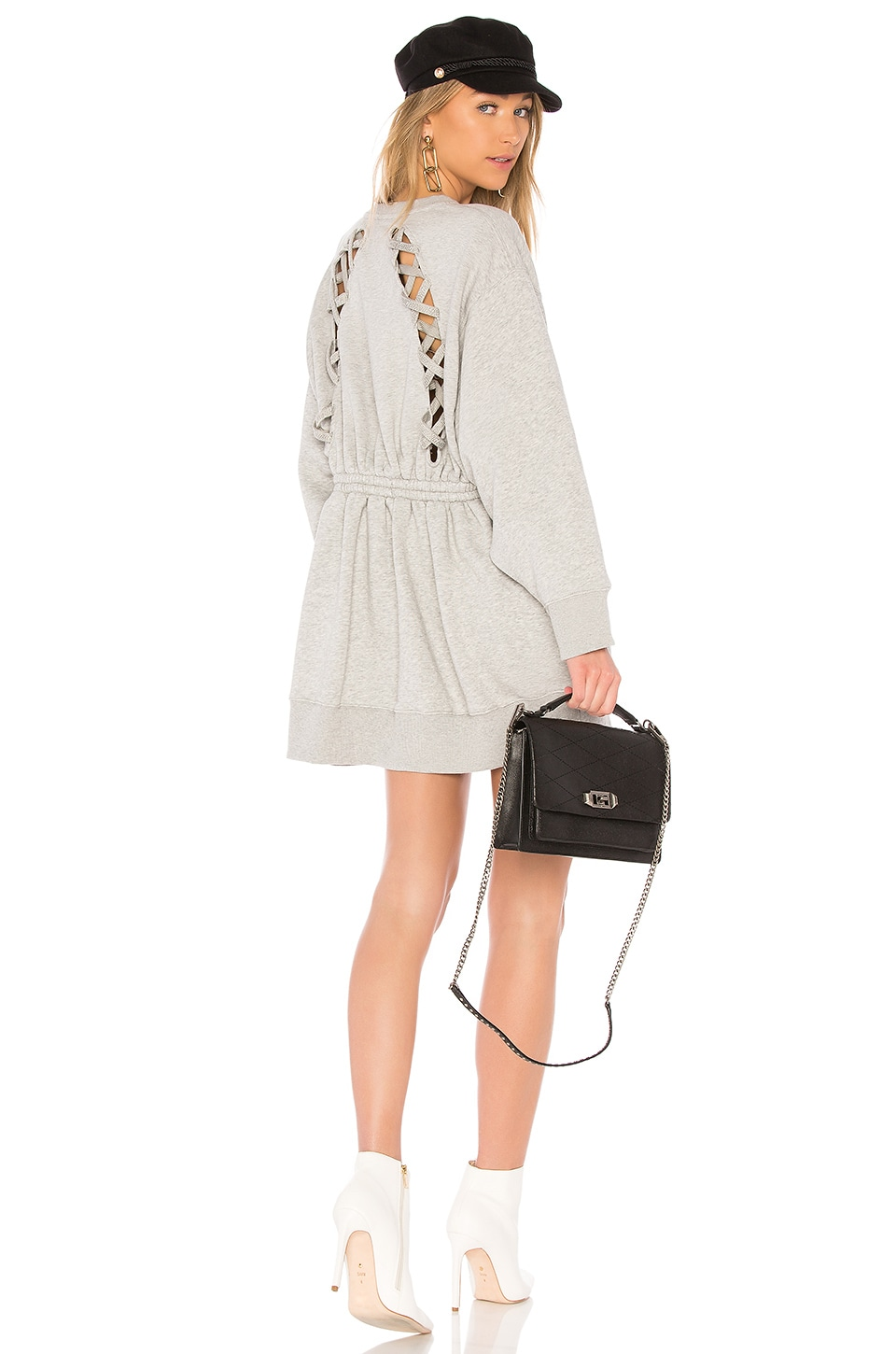 40707da4 TOMMY X GIGI Gigi Hadid Open Back LS Sweatshirt Dress