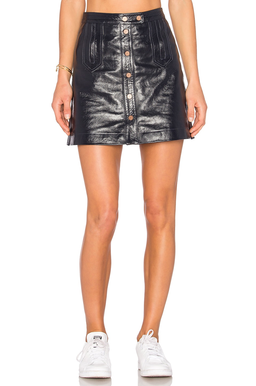 a3879ad5c32 Tommy Hilfiger TOMMY X GIGI Mini Skirt in Peacoat | REVOLVE