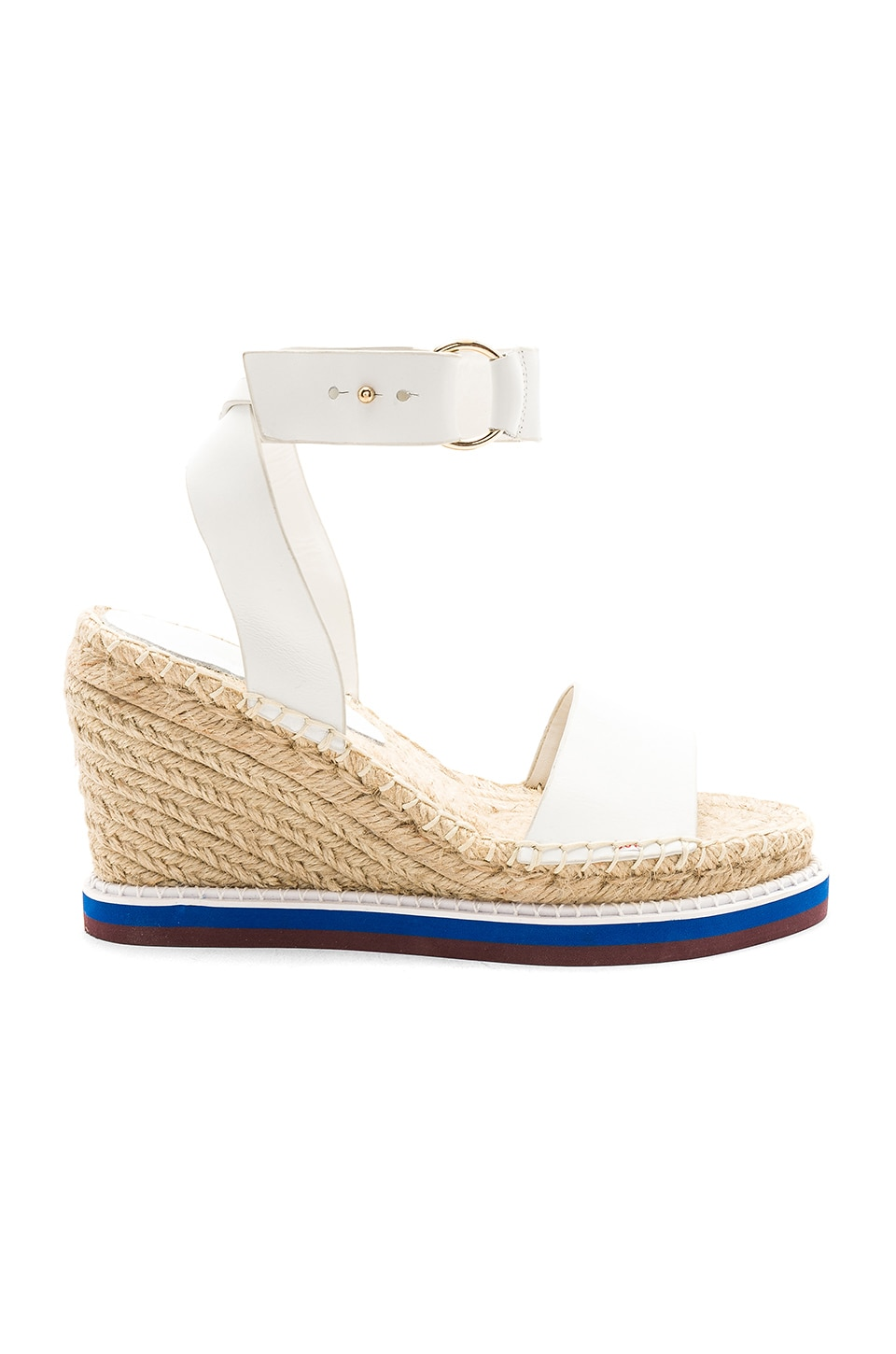Tony Bianco Emelia Wedge in White Carpetto