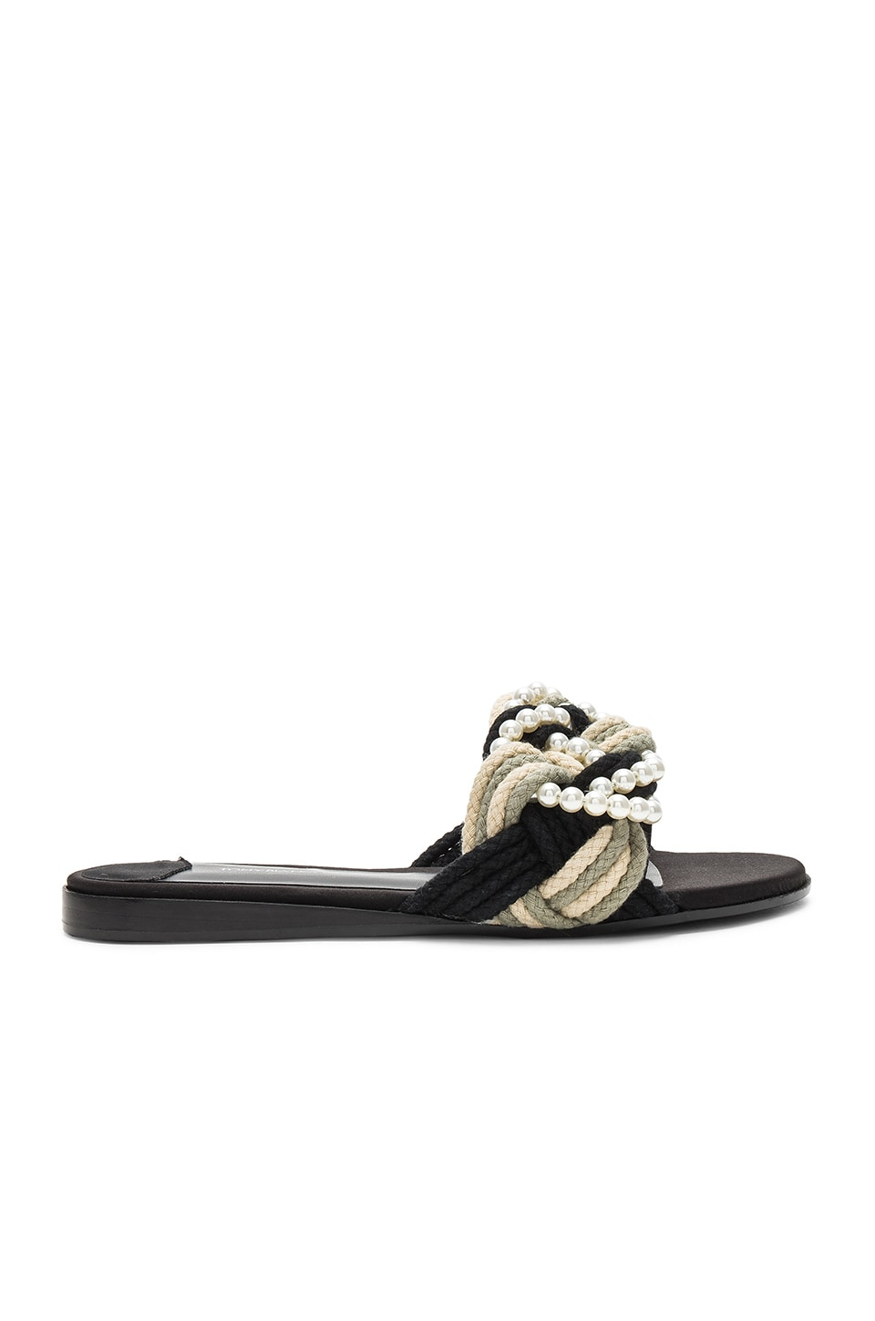 Tony Bianco Josie Slide in Rope & Pearl Combo