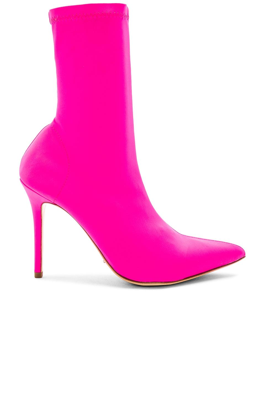Tony Bianco x REVOLVE Davis Bootie in Bright Pink