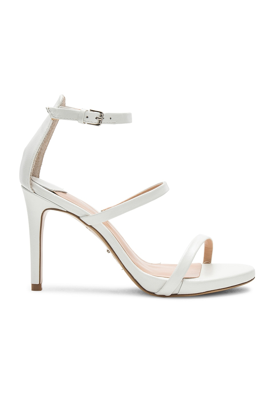 Tony Bianco Carey Heel in White Pearl