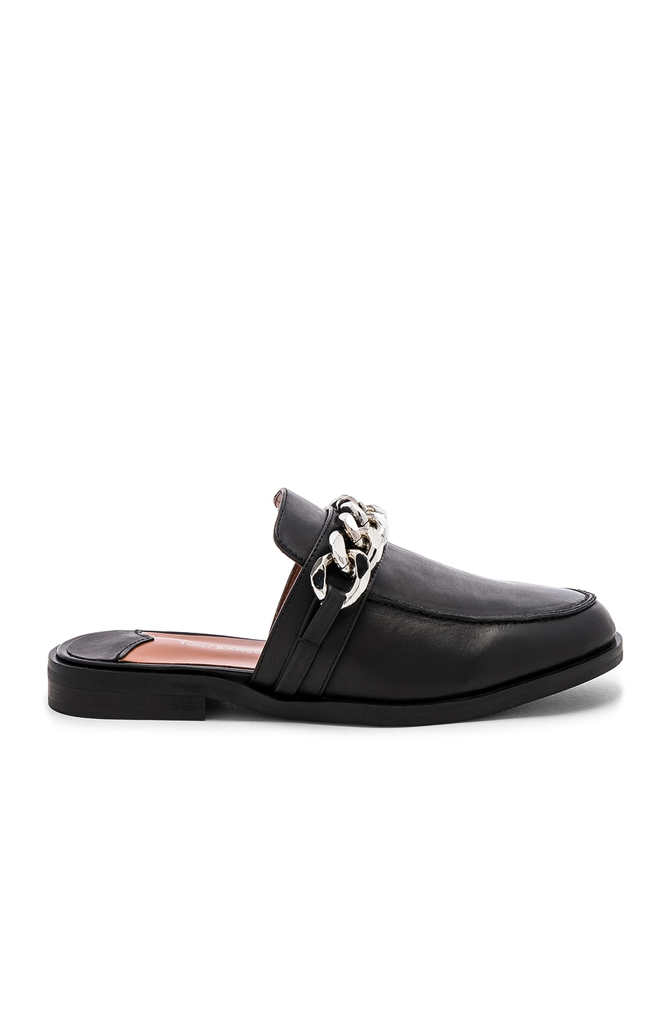 Tony Bianco Dion Loafer in Black Jetta