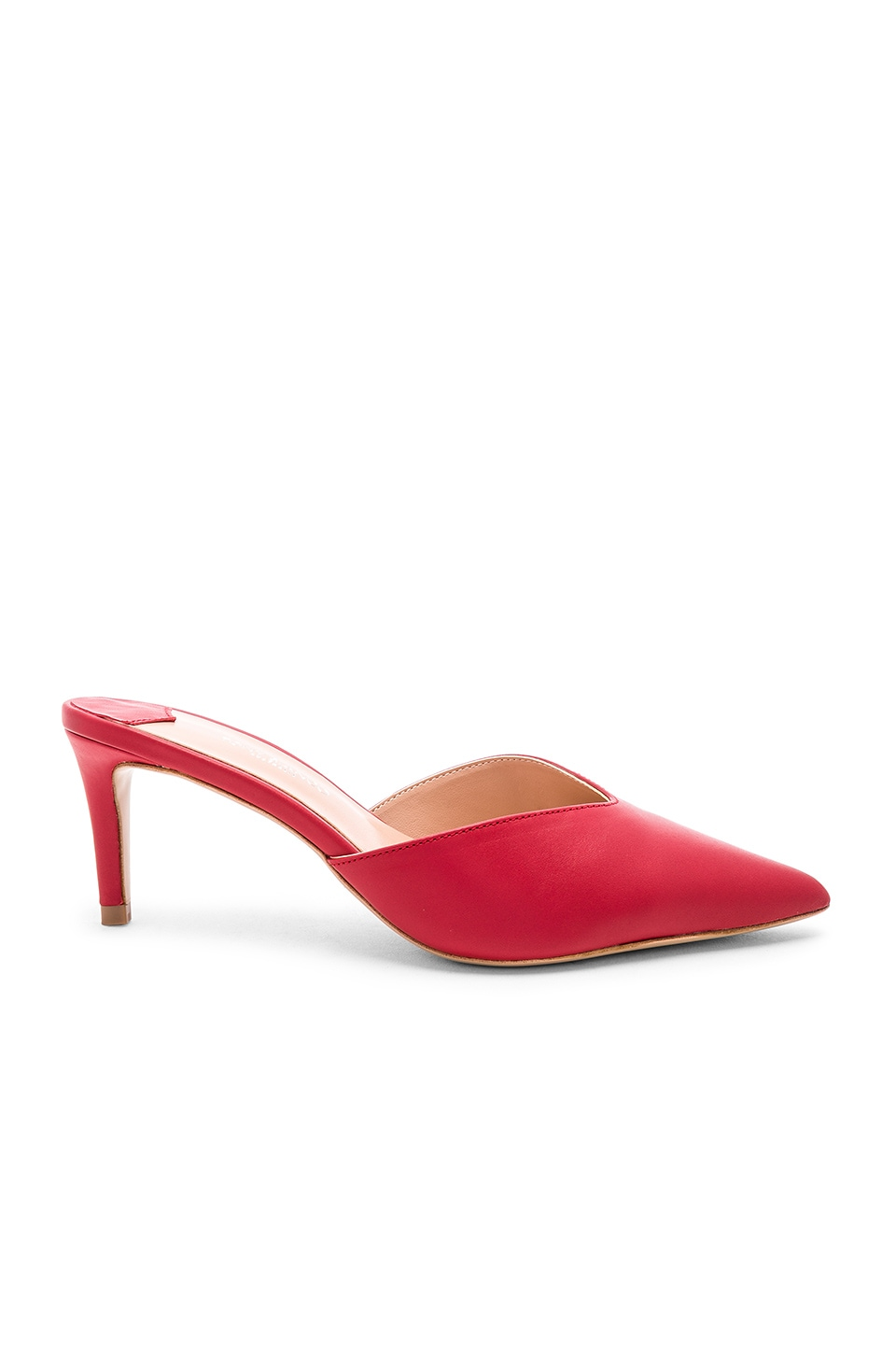 Tony Bianco Geva Mule in Red Denver