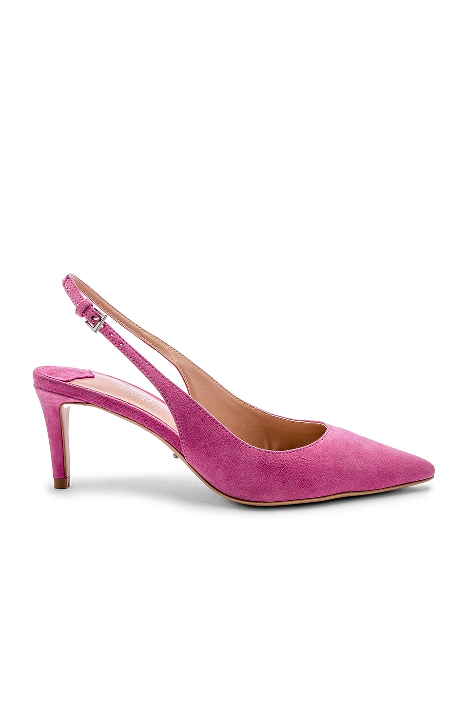 Tony Bianco Gypsy Heel in Pink Kid Suede
