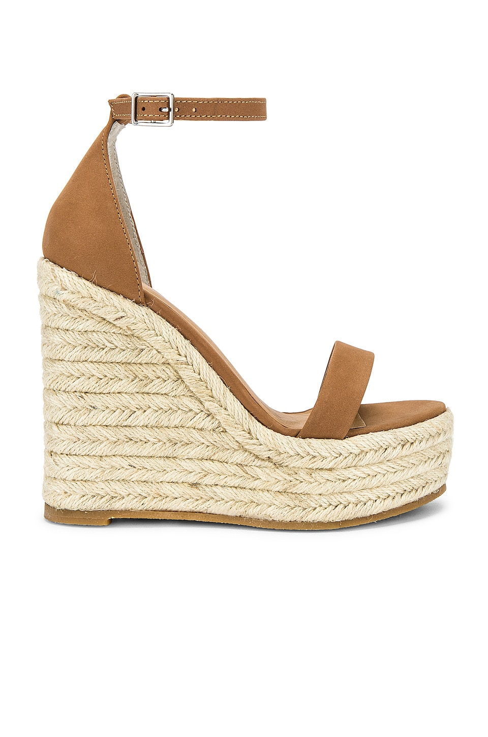 Tony Bianco Boho Wedge in Caramel Phoenix