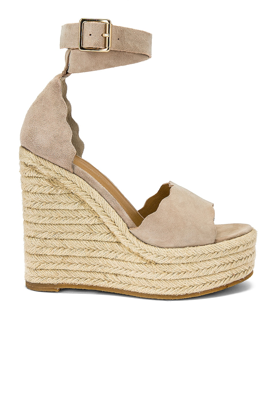 Tony Bianco Brandi Wedge in Ochre Kid Suede